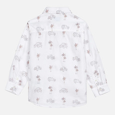 Mayoral USA Palm Tree Button up