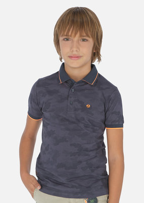 Mayoral USA Lead Polo with all over print
