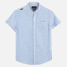 Mayoral USA Light Blue Short Sleeve Shirt