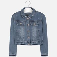Mayoral USA bleached jean jacket