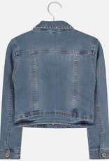 Mayoral USA bleached jean jacket