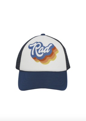 Feather 4 Arrow Navy Rad Hat
