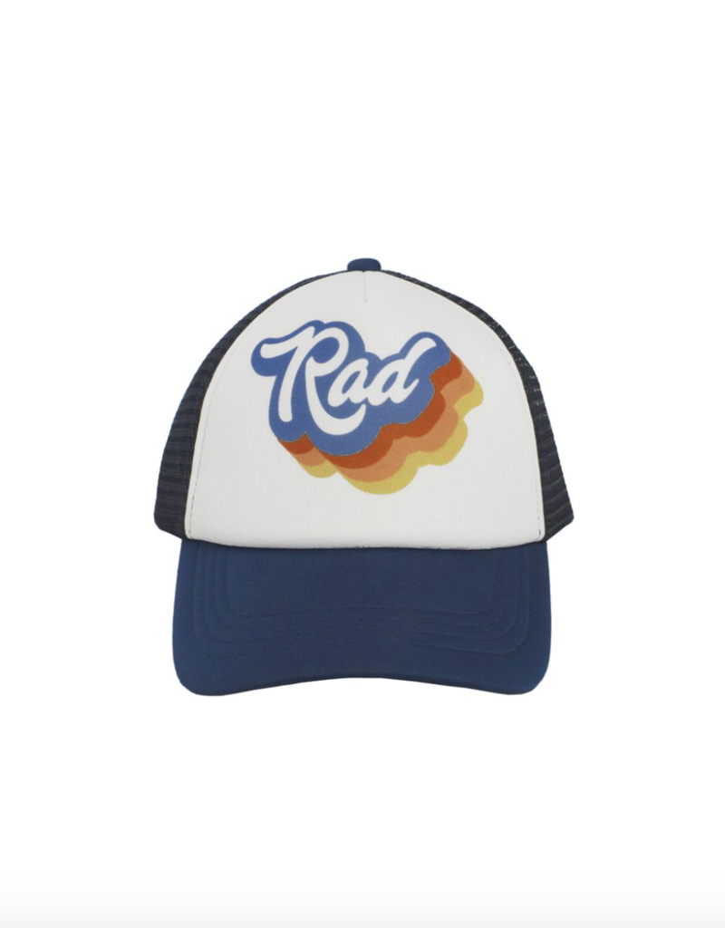 Feather 4 Arrow Navy Rad Hat