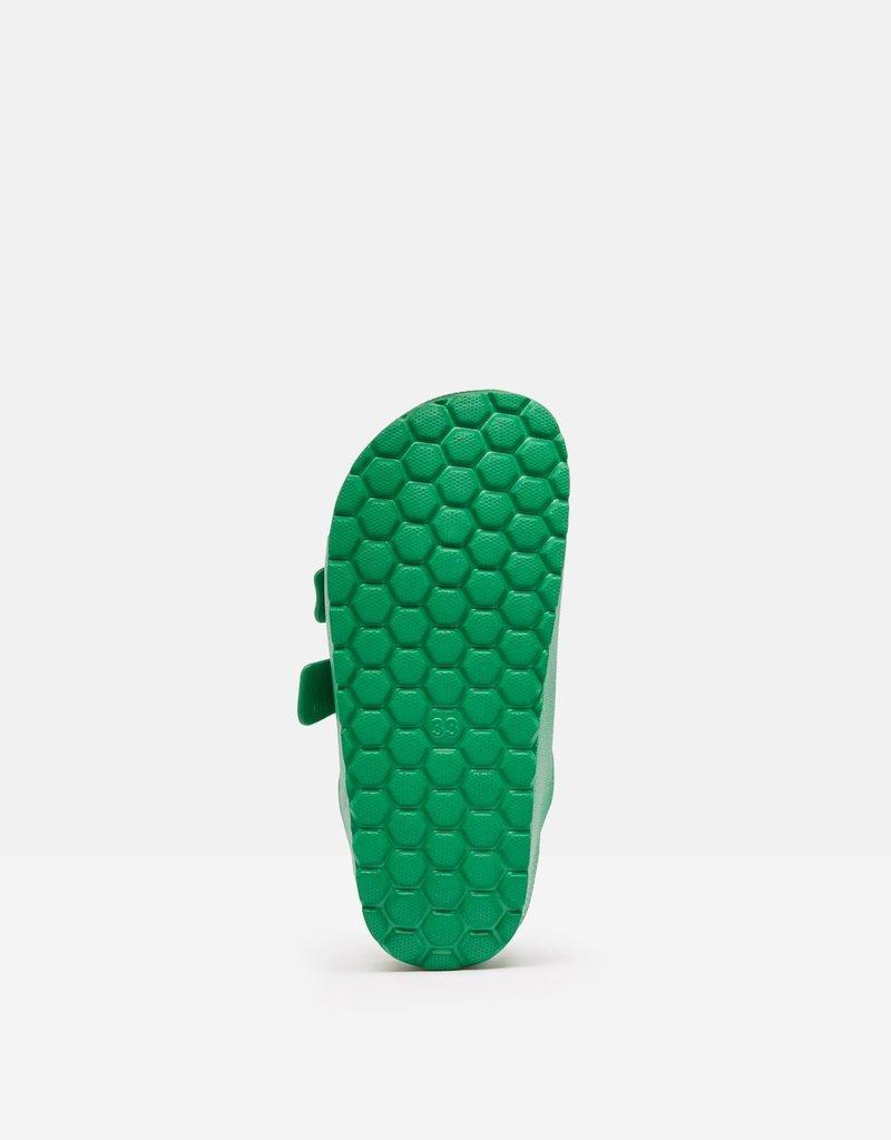 Joules Green Printed Slider
