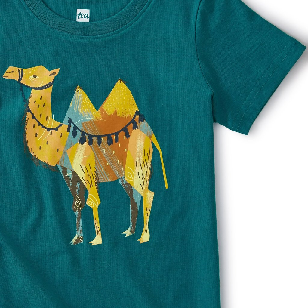 Tea Collection Saddle Up Camel Tee