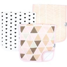Copper Pearl Burp Cloth Set 3pk