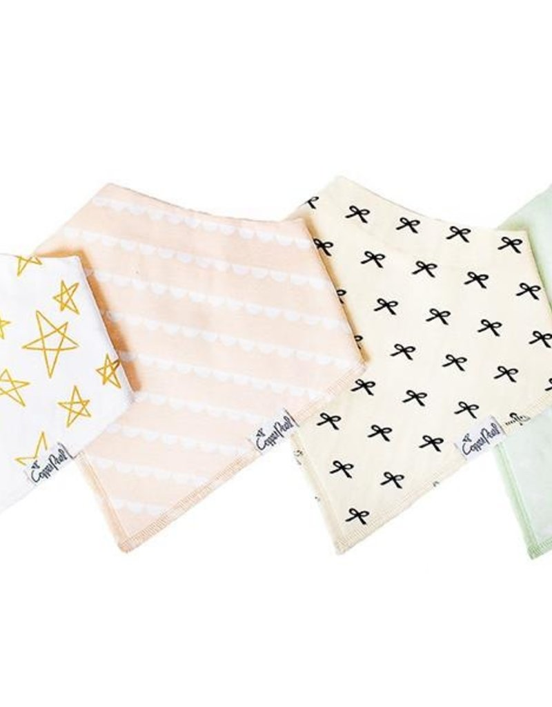 Copper Pearl Bandana Bib Set 4pk