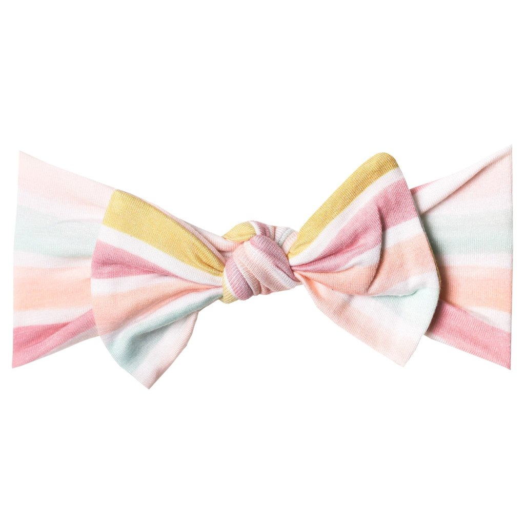Copper Pearl Headband Bow