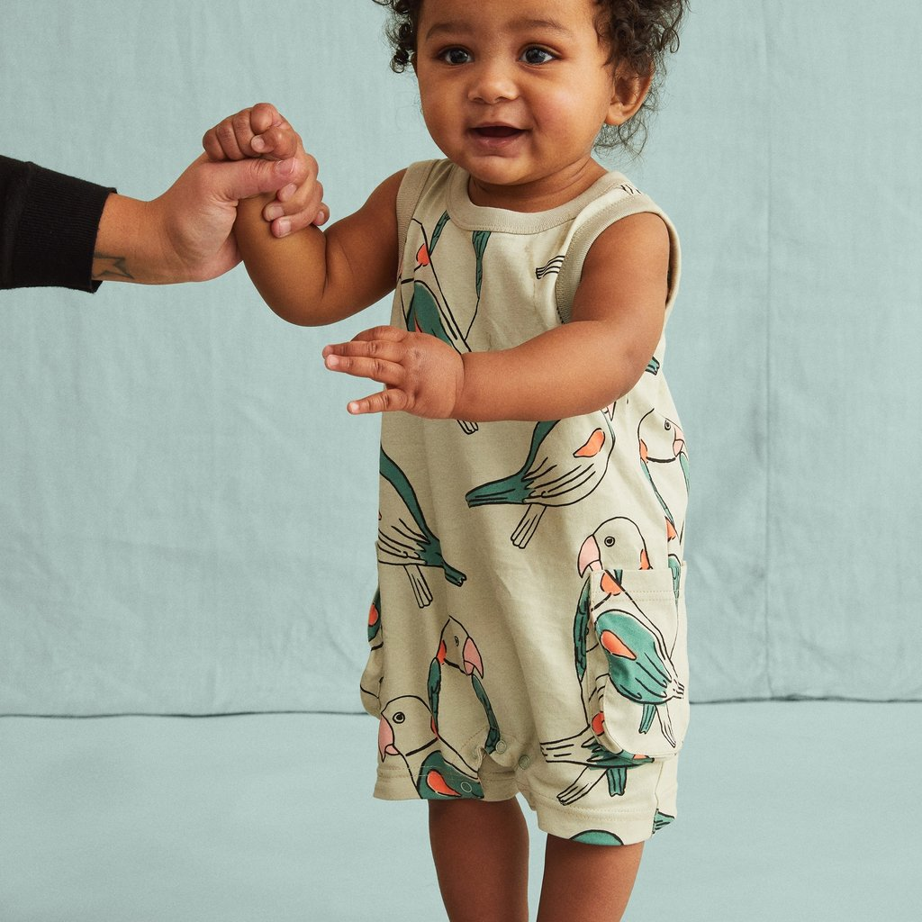 Tea Collection Patterned Play Romper