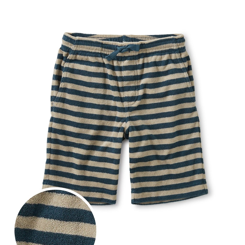 Tea Collection Terry Striped Vacation Shorts