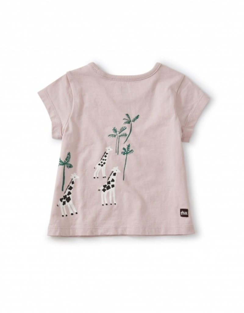 Tea Collection Giraffe & Baboon BFF Tee