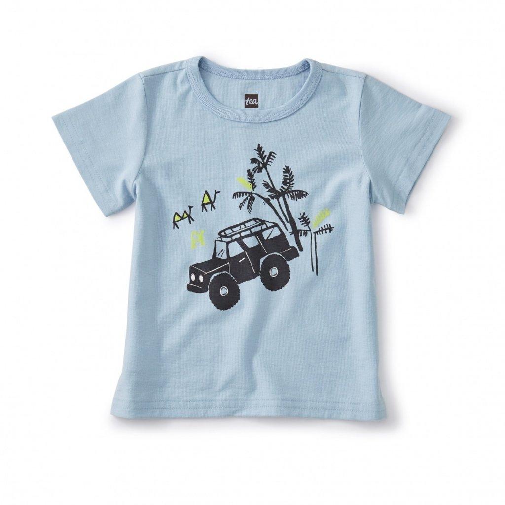 Tea Collection Beep Beep Baby Jeep Tee