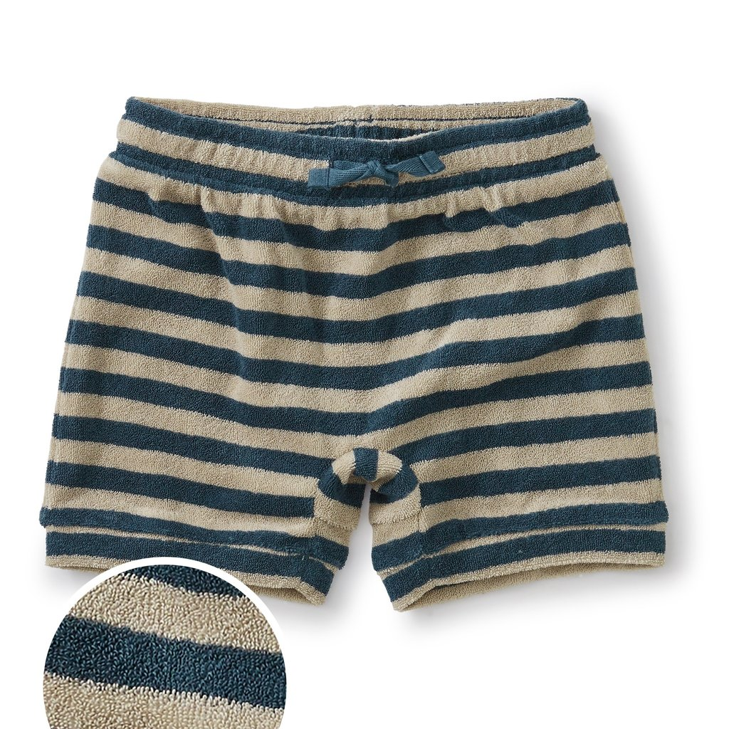 Tea Collection Terry Cloth Baby Short