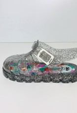 Little Joule Silver Jelly Shoe