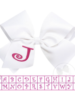 Wee Ones Monogram Bow