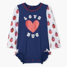 Hatley Love Bugs Baby Rashguard Swimsuit