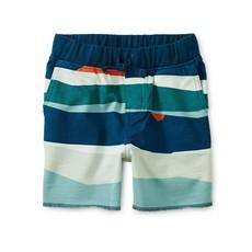 Tea Collection Printed Cruiser Baby Shorts