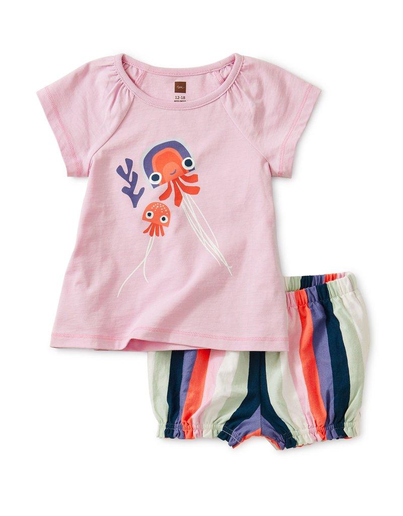 Tea Collection Jellyfish Baby Set