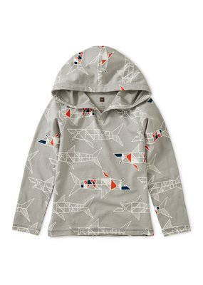 Tea Collection Printed Happy Hoodie