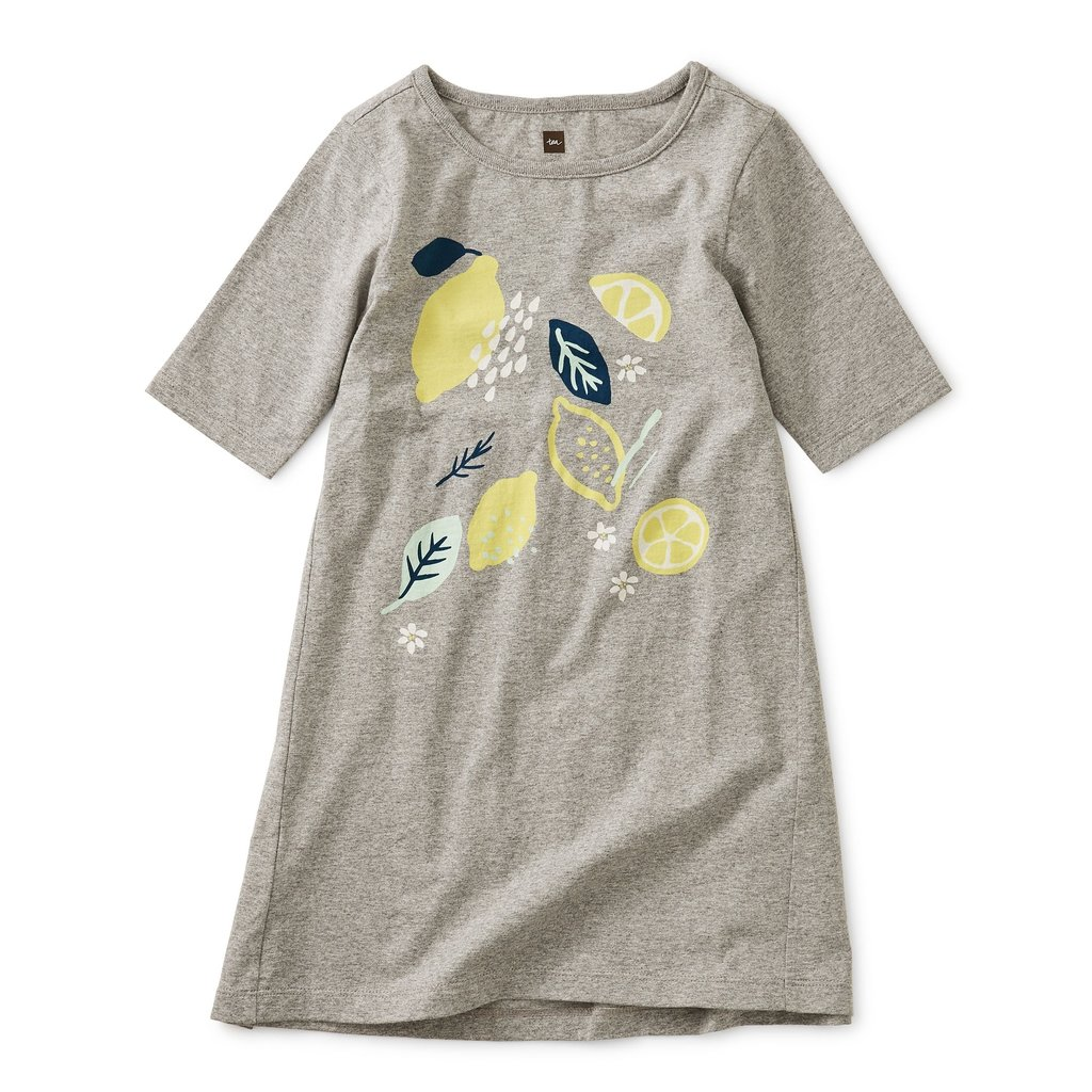 Tea Collection Lemon Graphic Dress