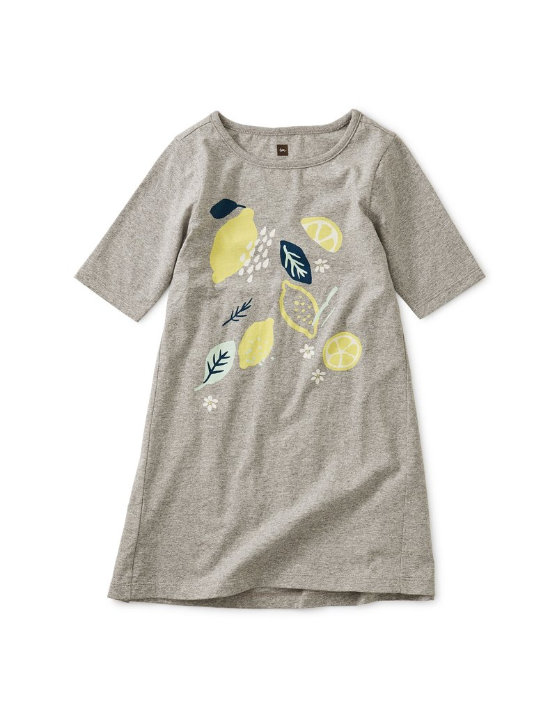 Tea Collection Lemon Graphic Dress