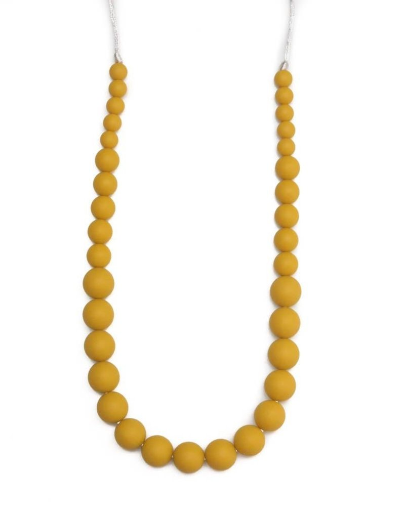 Getting Sew Crafty Ava Mustard Teething Necklace