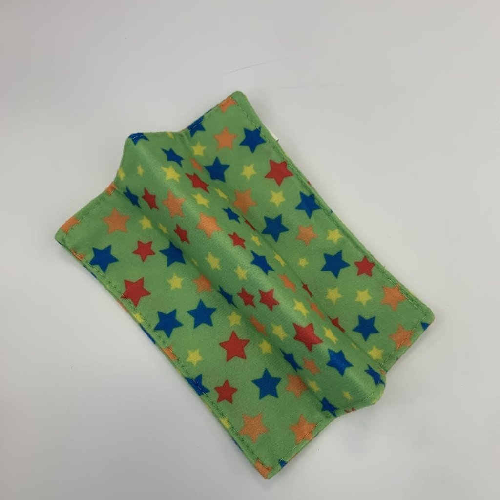 Wize Choice Creations Green Stars Baby Paper