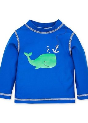 Little Me Blue Whale Rashguard