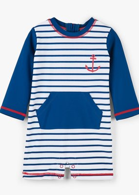 Hatley Nautical Stripes Baby Rashguard