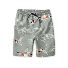 Tea Collection Printed Swim Trunks