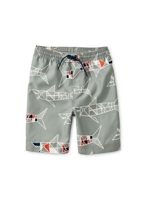 Tea Collection Printed Swim Trunks