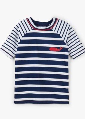 Hatley Nautical Stripes S/S Rashguard