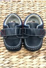 SEE KAI RUN* Milton Navy Crib Shoe  Medium