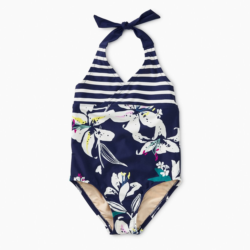Tea Collection Tropical Lillies Halter One Pc