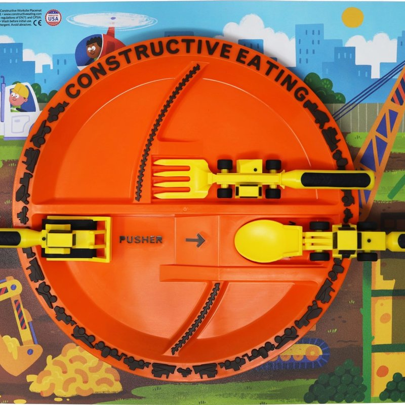 CONSTRUCTIVE EATING Construction Fan Bundle