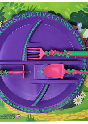 CONSTRUCTIVE EATING Garden Fairy Fan Bundle