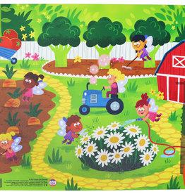 CONSTRUCTIVE EATING Garden Placemat