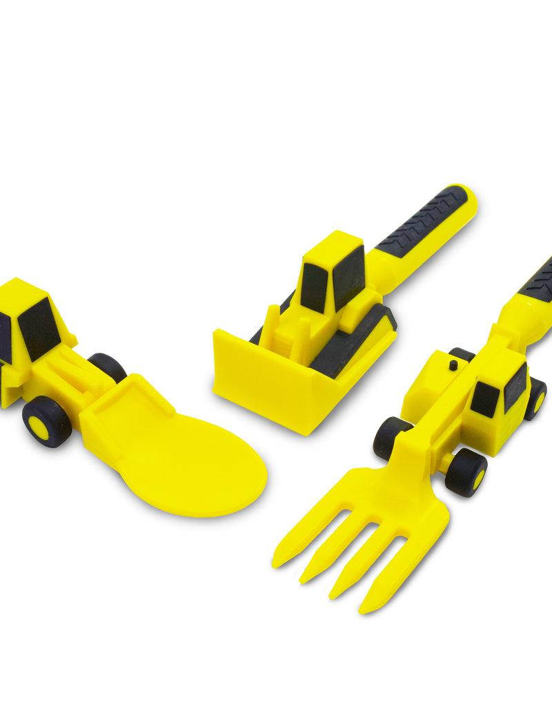 CONSTRUCTIVE EATING Construction Utensils 3 piece