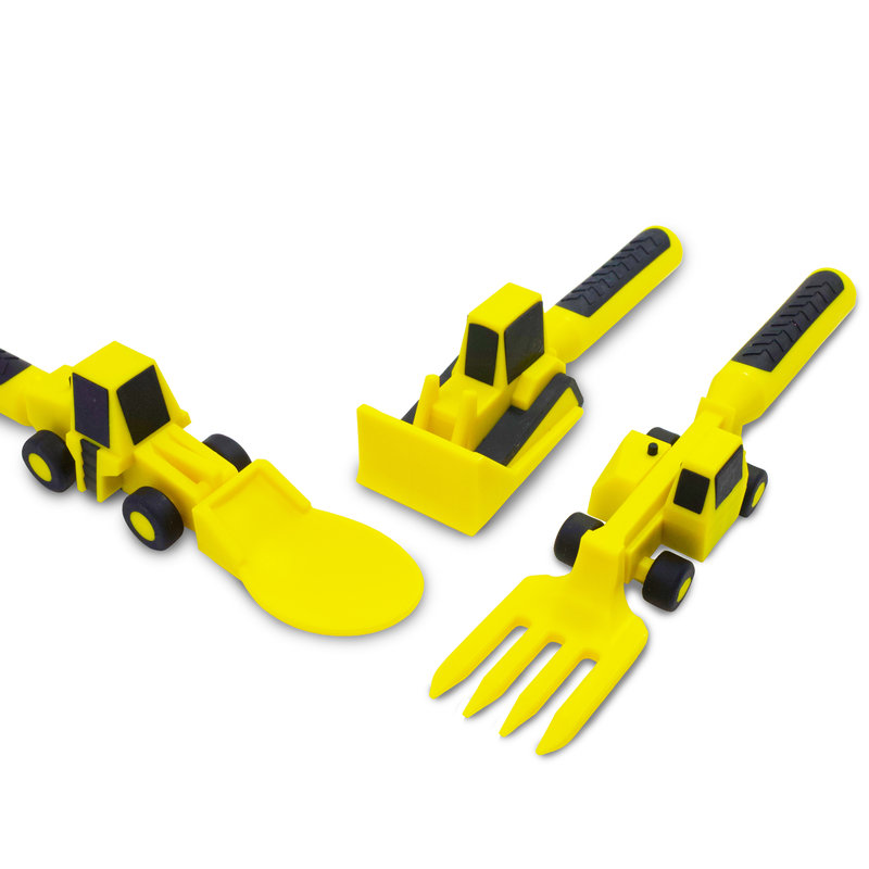 CONSTRUCTIVE EATING Construction Utensils 3 piece
