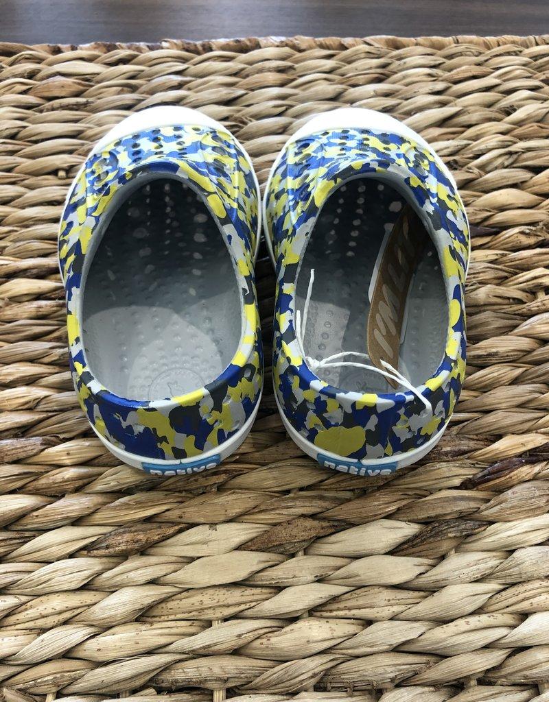 Native Canada Footwear Blue Camo Print Jefferson