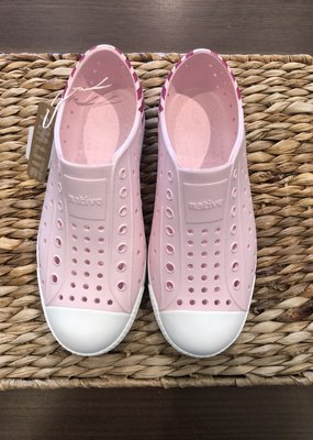 Native Canada Footwear Blossom Pink Jefferson Block