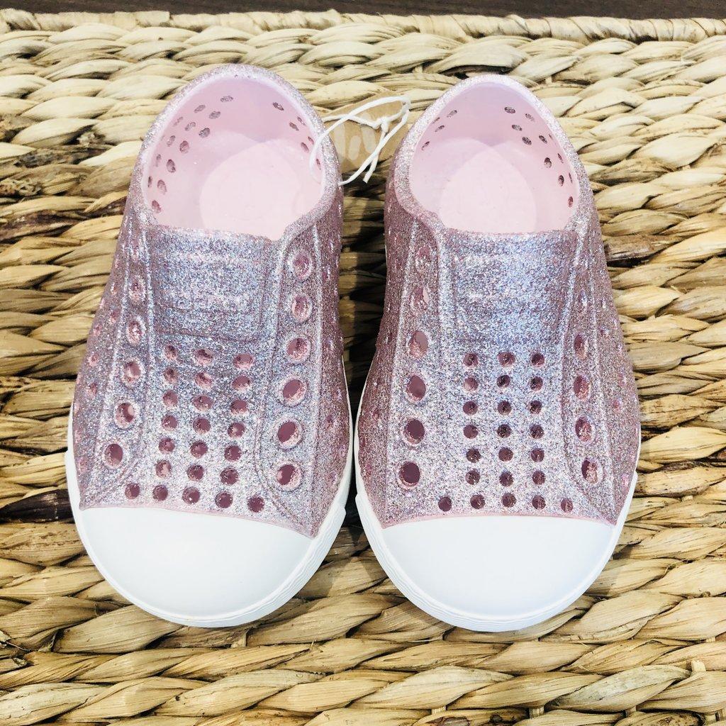 Native Canada Footwear Milk Pink Bling Jefferson