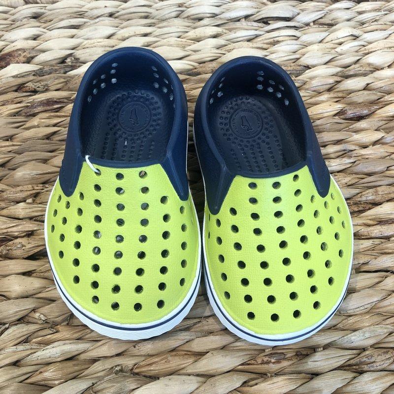 Native Canada Footwear Miles Blue Green Block