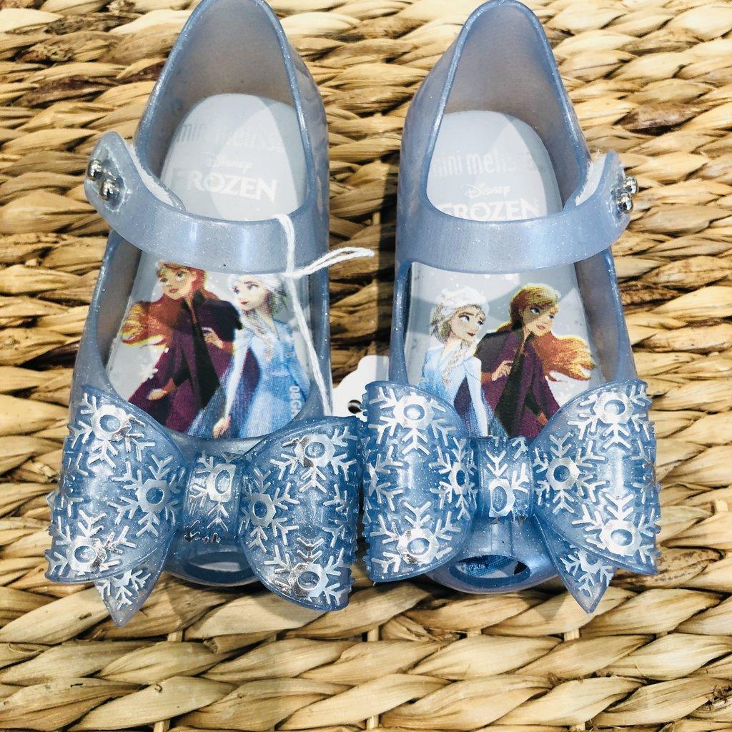 Melissa Shoes Pearl Blue Frozen Glitter Shoe