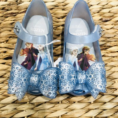 Melissa Shoes Pearl Blue Frozen Glitter Shoe