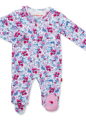 Magnificent Baby Darlington Floral Footie
