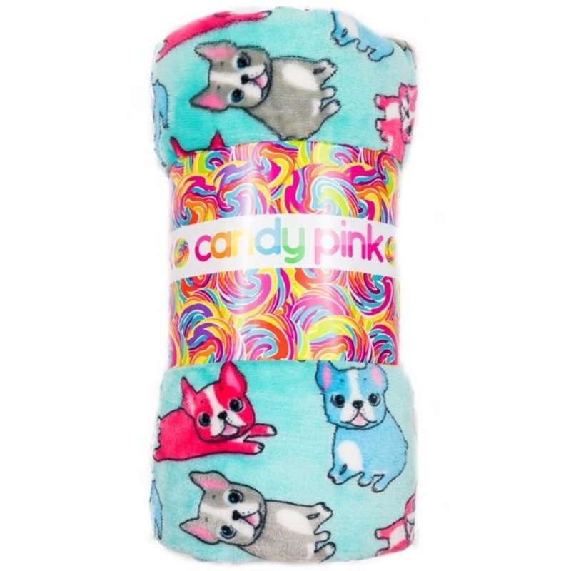 Candy Pink Fleece Pillowcase