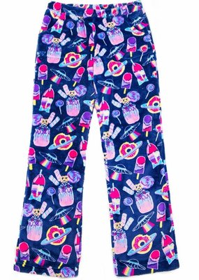 Candy Pink Dark Blue Galaxy Sleep Pants