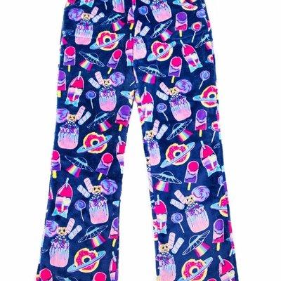Candy Pink Dark Blue Galaxy Sleep Pants