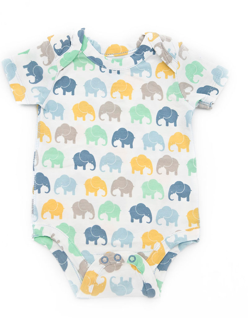 Elephant Moon LLC short sleeve onesie